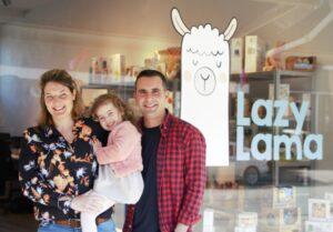 Evelien & Rahim, Lazy Lama